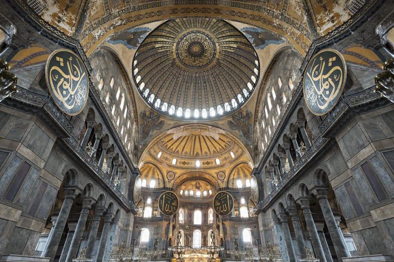 grande cupola Basilica Santa Sofia