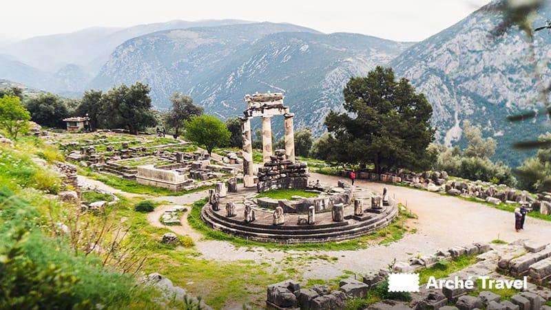 Delfi Atena Pronaia Santuario