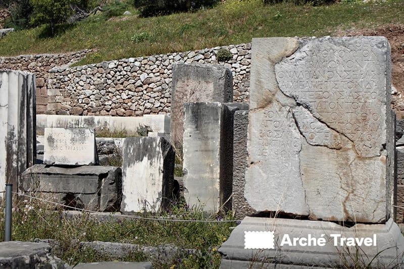 Tesoro Dorico Atena Pronaia Delfi