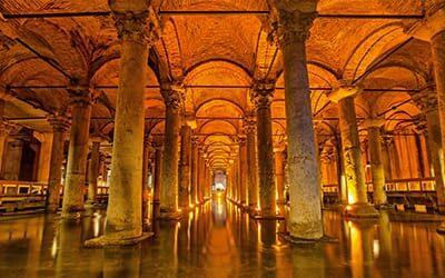 blog turchia guida di viaggio - la cisterna basilica di Istanbul