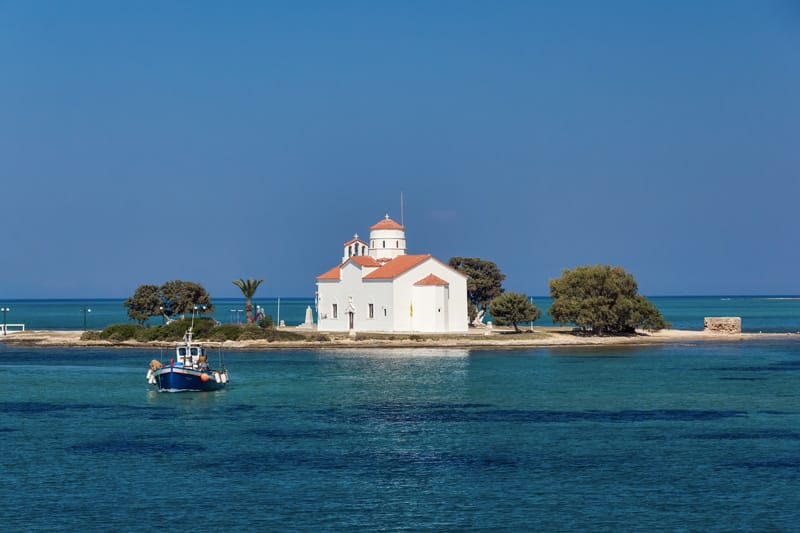 Elafonissos cosa vedere Agios Spyridon
