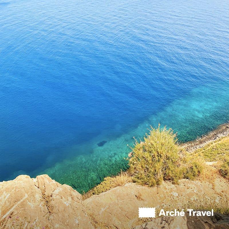 Monemvasia spiagge monemvasia peloponneso grecia