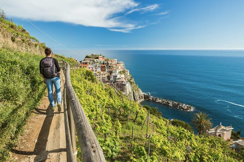 Sentiero Azzurro - cammini in italia, sentieri italiani