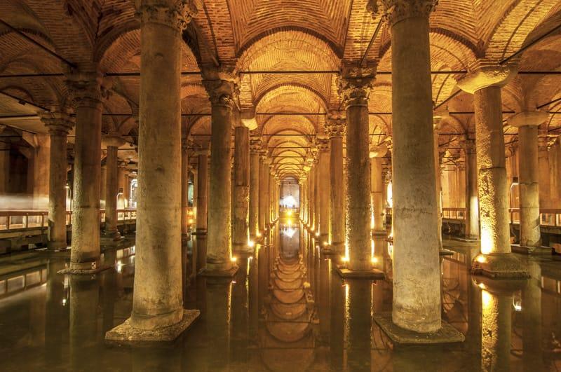 pianta cisterna basilica