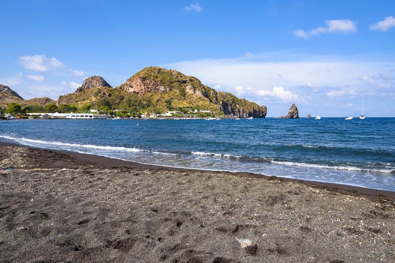 Spiaggia Sabbie Nere - Vulcano