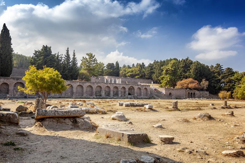 Sito archeologico di Asklepieion - kos fare vedere