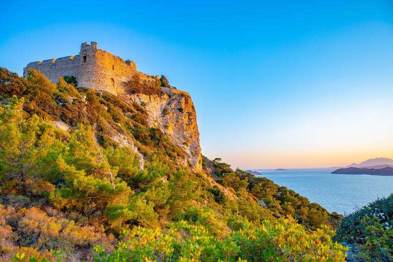 Castello di Kritinia cosa vedere rodi