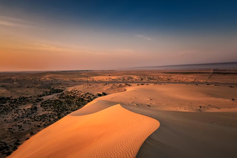 Il bellissimo deserto di Dammam - arabia saudita coronavirus viaggi regole