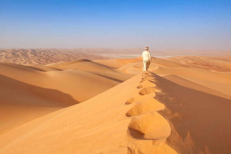 deserto kandoura - arabia saudita coronavirus viaggi regole