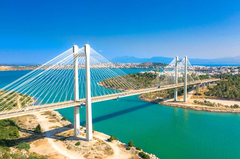 Ponte bianco di Calcide - Isola di Eubea