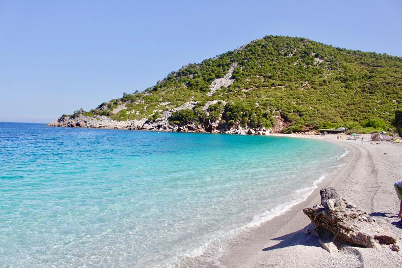 La bellissima Spaggia di Thapsa - Eubea Grecia