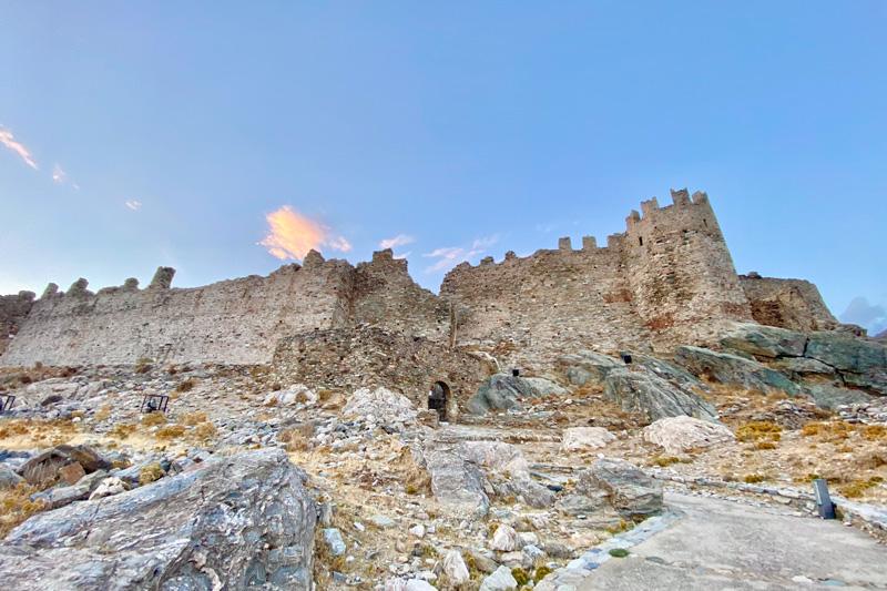 Castello di Karystos cosa fare vedere evia