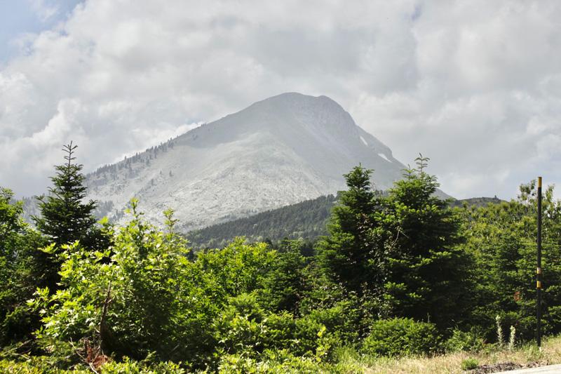 Vista sul Monte Dirfi - Eubea Grecia
