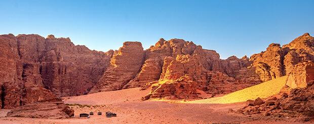 wadi rum - deserto wadi rum giordania
