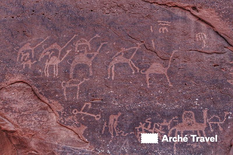 Le iscrizioni rupestri nella Valle della Luna