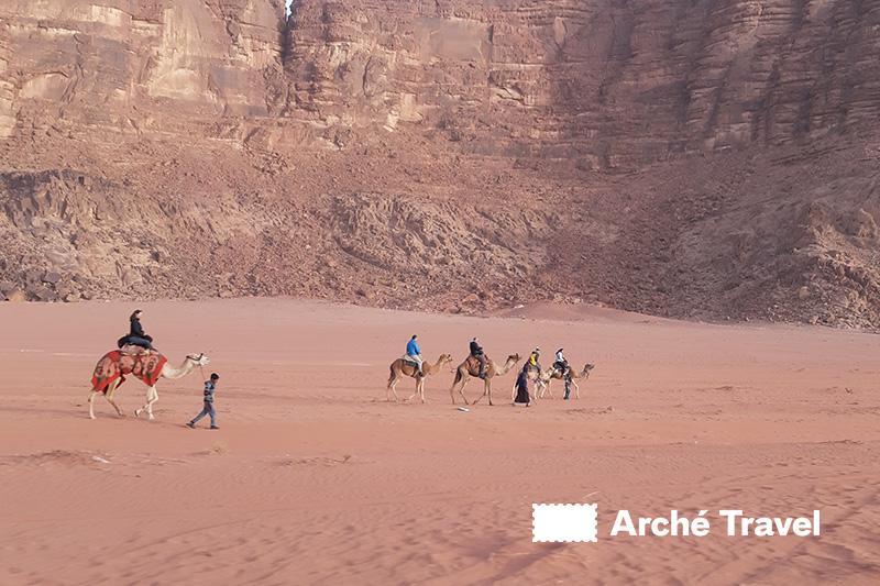 Escursione in Cammello nel Wadi Rum