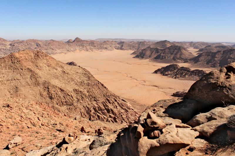 Trekking del Jebel Umm Ad Dami