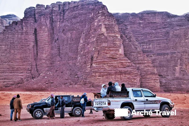 L'escursione in Jeep 4X4 nel Wadi Rum