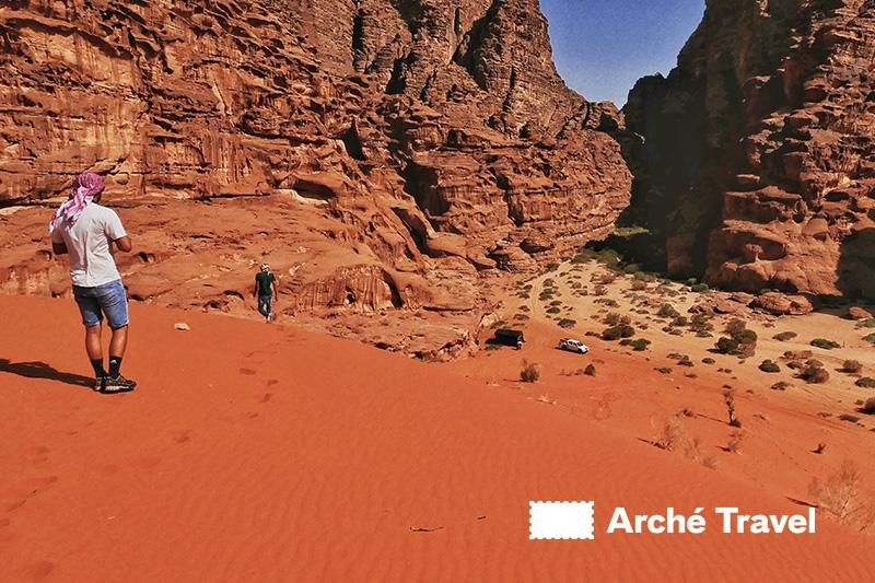 Le Dune di Al Hasany fare vedere wadi rum giordania